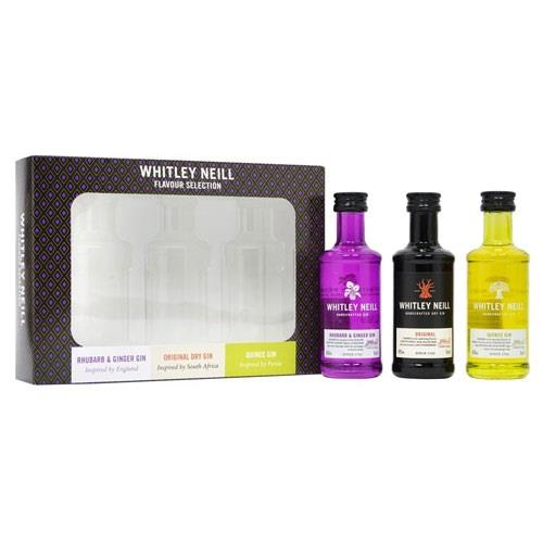Whitley Neill Gin Gift Pack 3x5cl Image 1