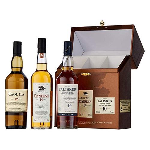 The Classic Malts Gift Pack Coastal 3x20cl Image 1