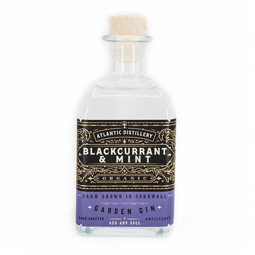 Atlantic Distillery Blackcurrant & Mint Organic Gin 43% 70cl Image 1