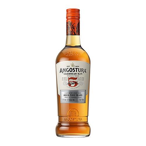 Angostura 5 years old Golden Rum 40% 70cl Image 1