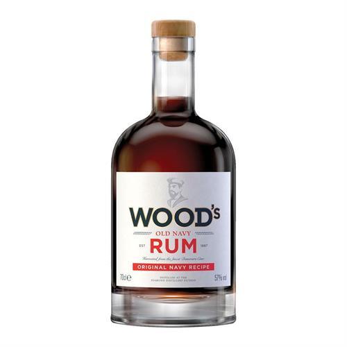Woods 100 Navy Rum 57% 70cl Image 1