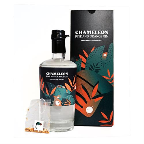 Chameleon Pine and Orange Cornish Gin 50cl Image 1