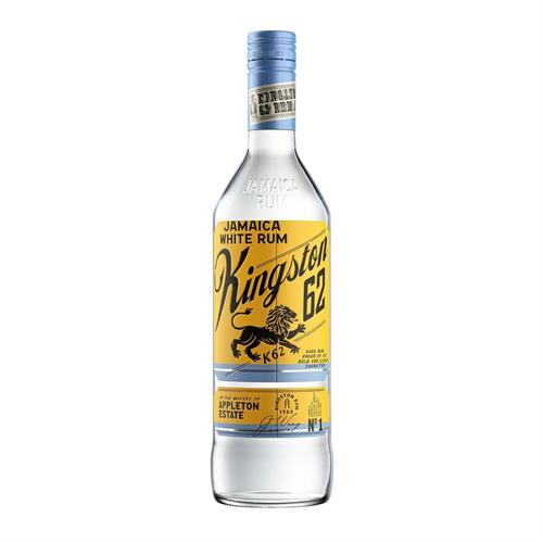 Kingston 62 Jamaican White Rum 70cl Image 1