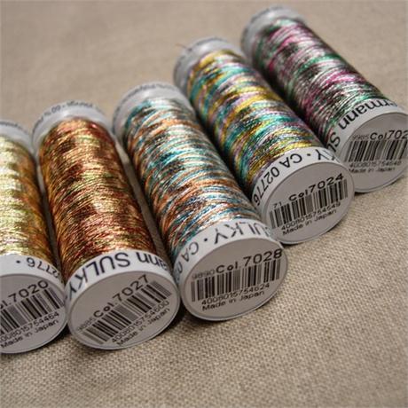 Gutermann Sulky Metallic Thread 200m Image 1
