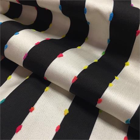 Chenille & Silk Stripe Image 1