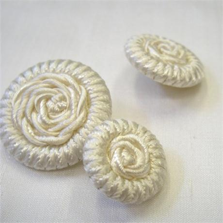 Braided Button 16mm Image 1
