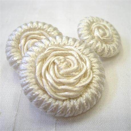 Braided Button 26mm Image 1