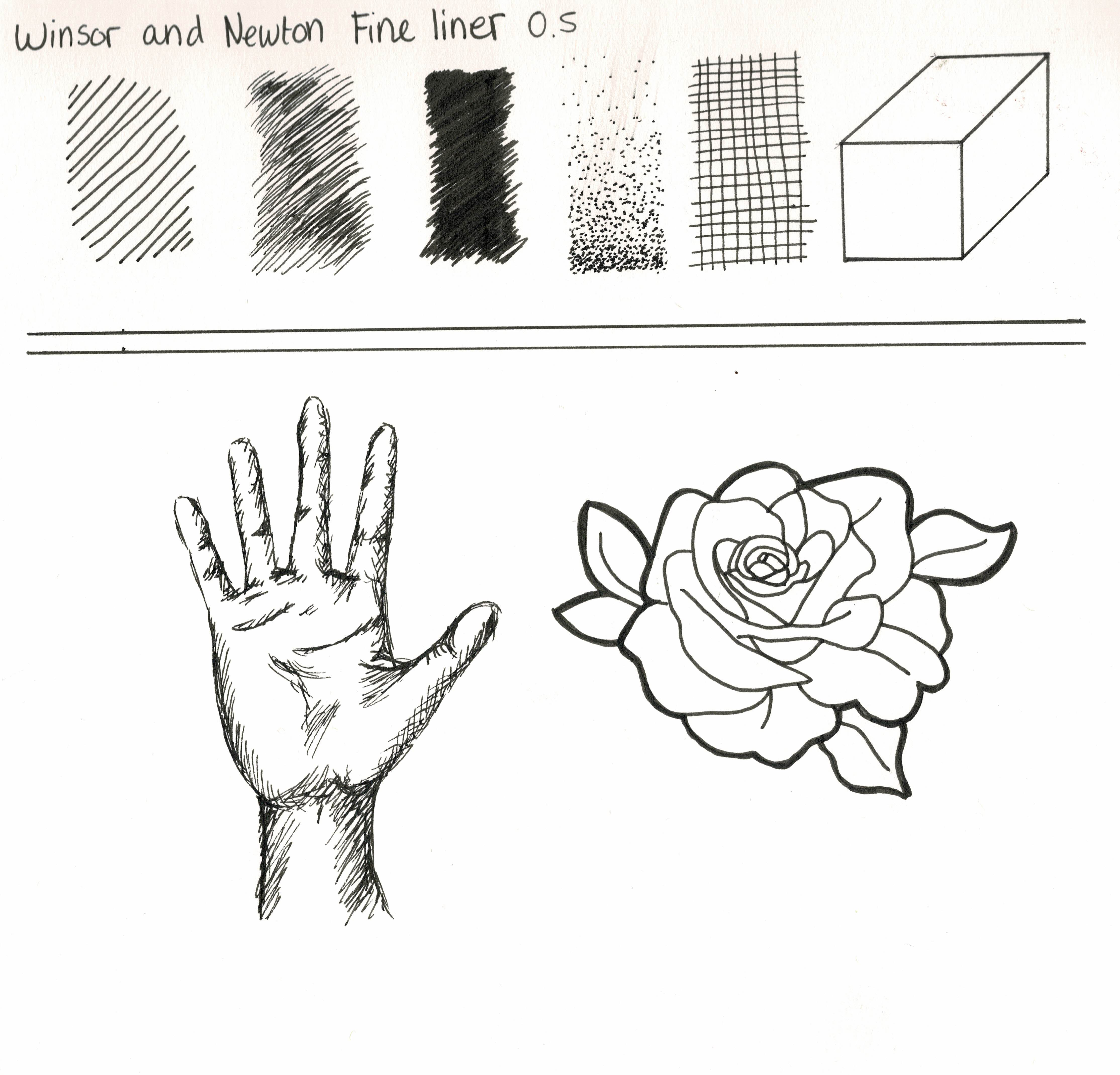 Drawing With Winsor & Newton Fineliners