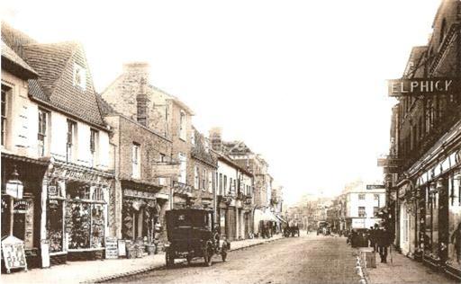 Pullingers, West Street, Farnham 1913