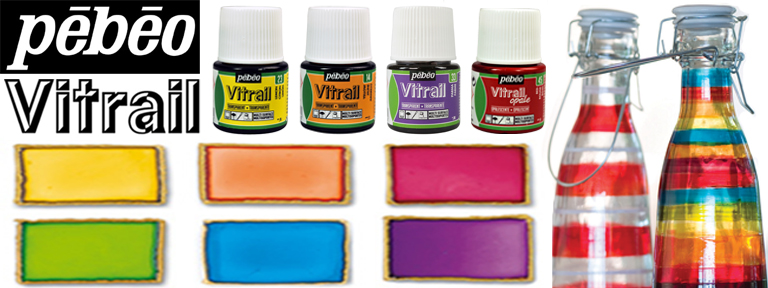 How To Do Glass Painting With Pebeo Vitrail Paints