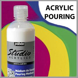 Pebeo Acrylic Pouring Supplies