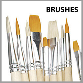 Pebeo Paint Brushes