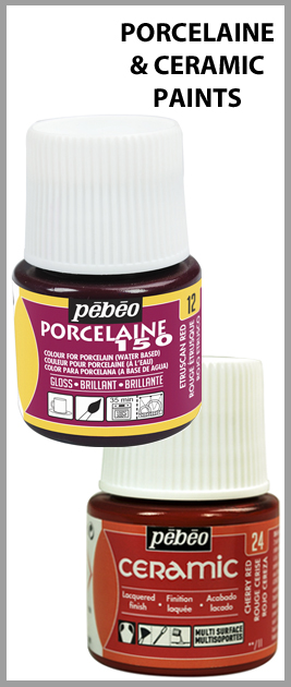 Pebeo Porcelaine And Ceramic Paints