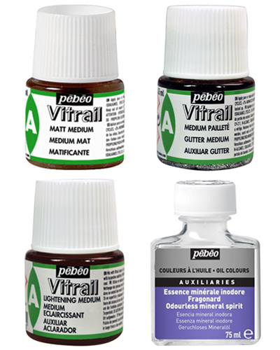 Pebeo Vitrail Glass Paint Instructions