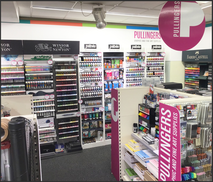 Eastbourne Pullingers Art Shop