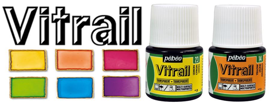 Pebeo Vitrail Glass Paints