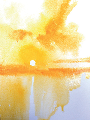 Winsor & Newton Cadmium Free Watercolour Tutorial Step 2
