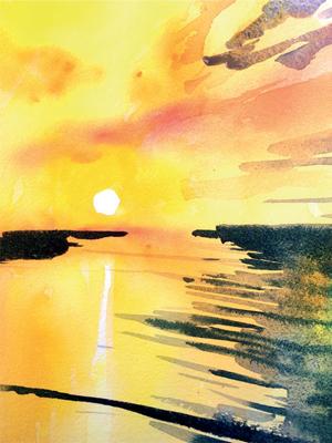 Winsor & Newton Cadmium Free Watercolour Tutorial Step 6