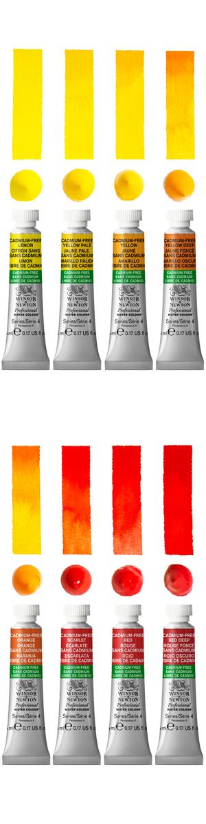 Winsor & Newton Cadmium Free Professional Watercolour