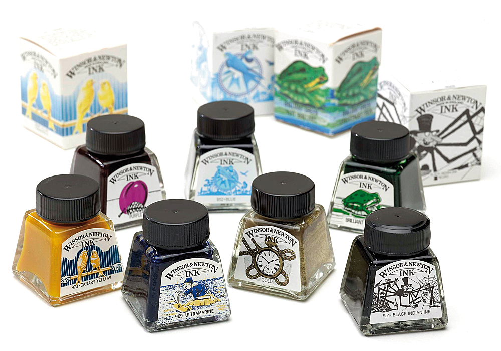 Winsor & Newton Drawing Inks