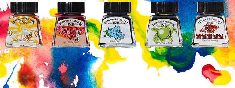 What Are Winsor & Newton Drawing Inks & How To Use Them