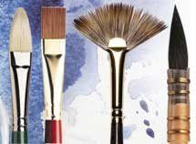 Artists Paint Brushes