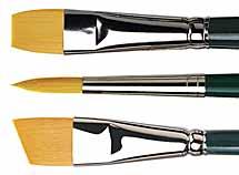 da Vinci NOVA Synthetic Watercolour Brushes