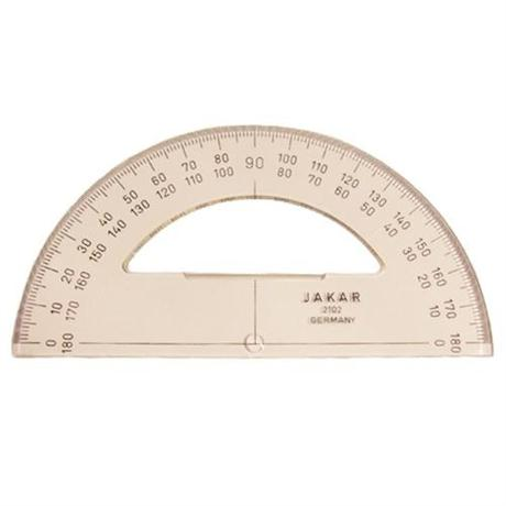 Jakar 180° 150mm Protractor Image 1