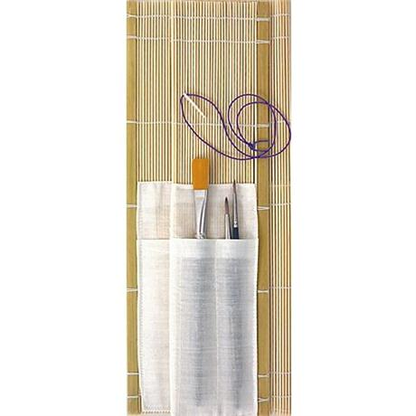 Bamboo Brush Roll Image 1