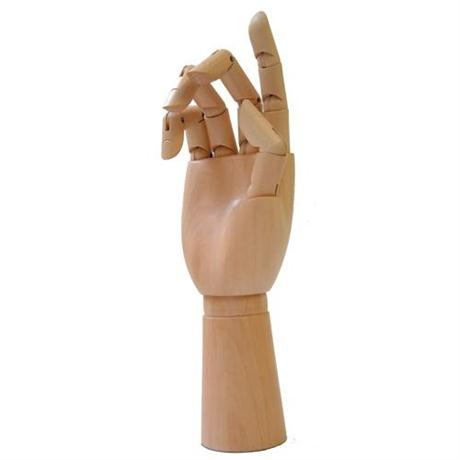 Wooden Hand 12inch Image 1