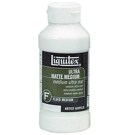 Liquitex Ultra Matt Medium 237ml Bottle Image 1