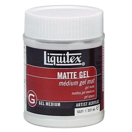 Liquitex Matt Gel Medium 237ml Jar Image 1