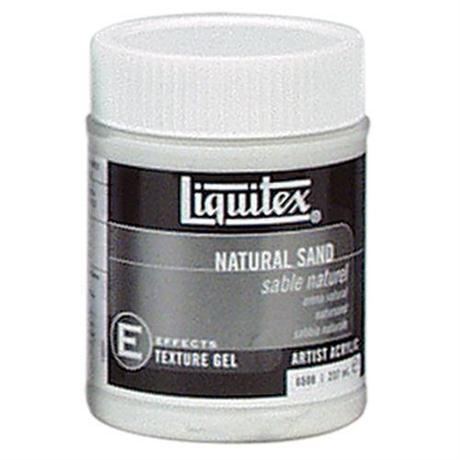 Liquitex Natural Sand Medium 237ml Jar Image 1