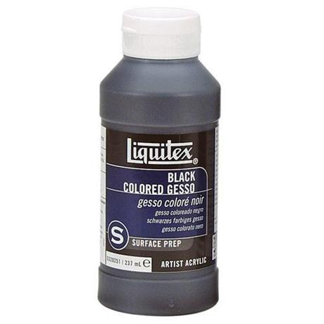 Liquitex Black Coloured Gesso 237ml Bottle Image 1