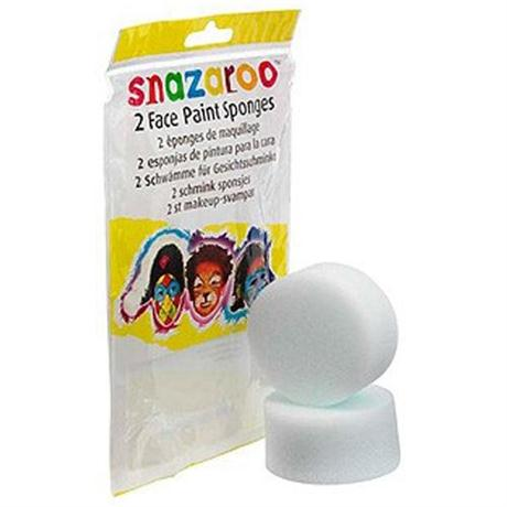 Snazaroo High Density Face Painting Sponges 2 Pack Image 1
