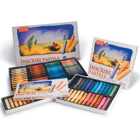 Inscribe Soft Pastel Set - 32 Colours - Half Sticks Image 1