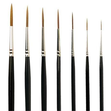 Pro Arte Series 103 Prolene Brushes - Rigger Image 1