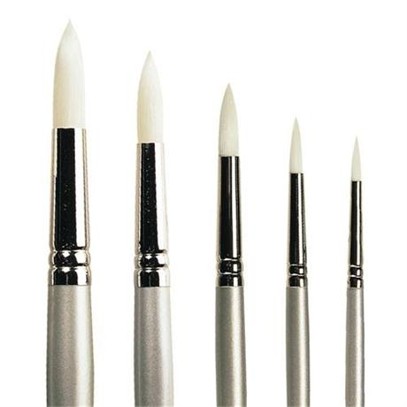 Pro Arte Series 201 Sterling Acrylix Brushes - Round Image 1