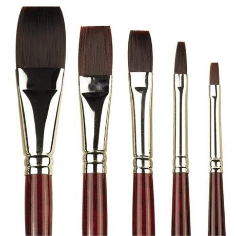 Pro Arte Series 204 Acrylix Brushes - One Stroke Image 1