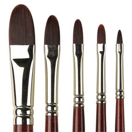 Pro Arte Series 205 Acrylix Brushes - Filbert Image 1