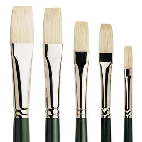 Pro Arte Series A Hog Brush - Long Flat Image 1