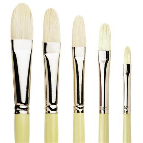 Pro Arte Series B Hog Brush - Filbert Image 1
