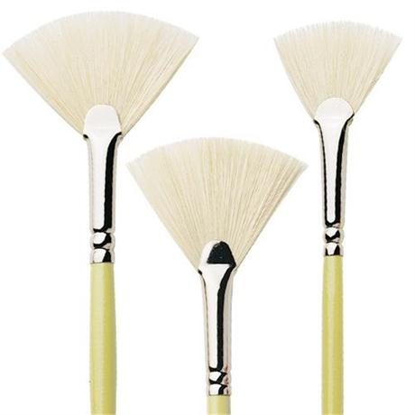 Pro Arte Series E Hog Fan Brush Image 1