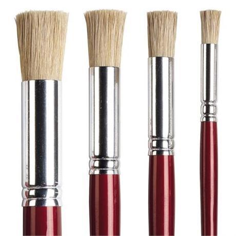 Pro Arte Stencil Brushes Image 1