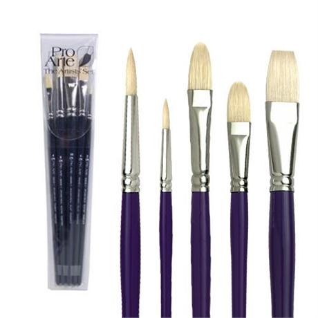 Pro Arte Student Hog Brush Set Image 1