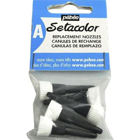 Pebeo Setacolor Outliner Replacement Nozzles Pack Of 5 Image 1
