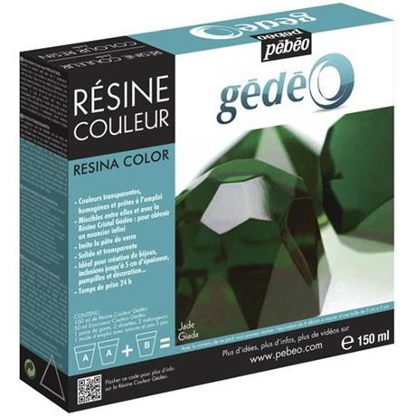 Gedeo Colour Resin 150ml JADE Image 1