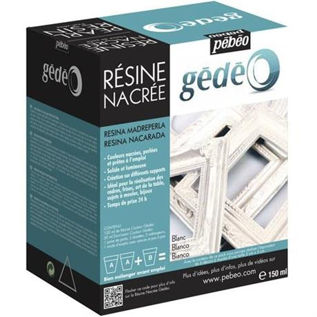 Gedeo Pearl Resin 150ml PEARL WHITE Image 1
