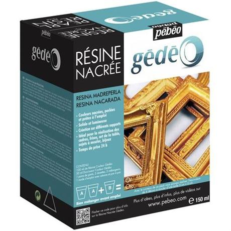 Gedeo Pearl Resin 150ml GOLD Image 1
