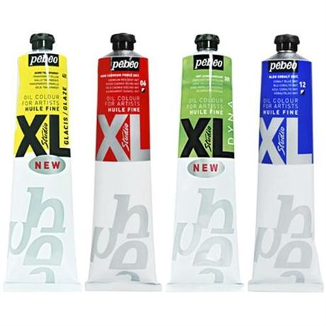 Pebeo Studio XL Fine Oil Paints 180ml / 200ml Tubes Image 1